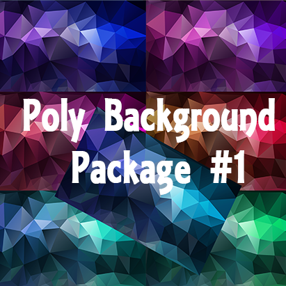 Poly Web Backgrounds Package